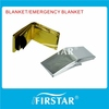 Specific design thermal emergency blanket for first aid