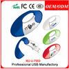 plastic promotional usb , custom usb flash disk with heart shape