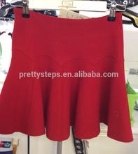Pretty Steps 2015 fashion korean wave scallop skirt ladies sexy tight skirts