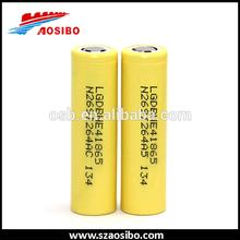 Full stock,battery he4 LG 3.6V 18650 high drain 35A 2500mah ICR18650HE2 HE4