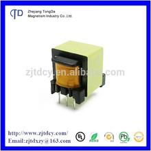 EE13 broadening high frequency transformer