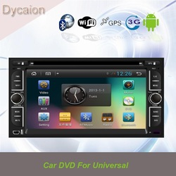 Cheap 2 din car with gps universal/universal navigation 2din/car multimedia with gps universal