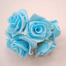 Foam rose flower with powder for wedding