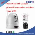 360-degree câmeras de segurança, 720 P wifi camera para escritório momitoring, Nuvem câmera ip