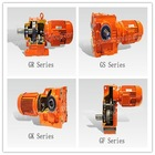 Chinese R,S,K,F type GUOMAO gear box precision gear speed reducer parallel shaft gear motor electrical tools names