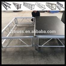 Aluminum smart stage, Portable stage platform, Aluminum plywood platform stage deck