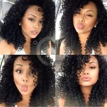Alibaba Peruvian Hair Full Lace Wigs Kinky Curly Virgin Peruvian Hair Full Lace Wigs For Black Women Cheap Human Hair Lace Wigs