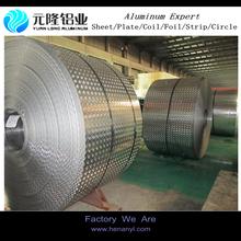9 micron aluminium foil embossed orange pattern aluminium foil supplier