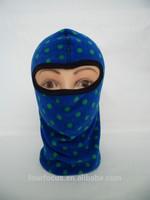 hot new polyester polar fleece knitted mask hat