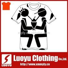 Custom printing tshirt for boy and girl