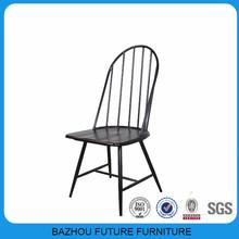 Diseño moderno barato de metal de madera asiento de la silla