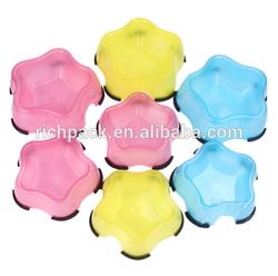 Wholesale dog bowls cute plastic pet bowl