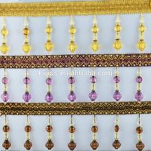 2014 hot popular nice decorative fringe for curtain