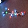 الطاقة الشمسية حديقة ضوء الصمام 7 ألوان 100/200 حفلة عيد الميلاد سلسلة الجنية مصباح