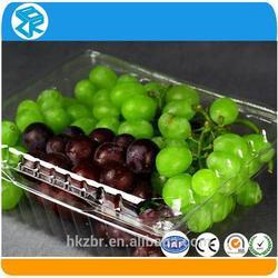 Customized Many Sizes Plastic lemon fruit or vegetable tray