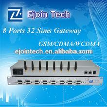 Big promotion! ACOM508G-32 Ejointech sim rotation 32 sim 8 port voip gateway