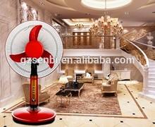 red fan home appliance plastic battery operated cooler fan