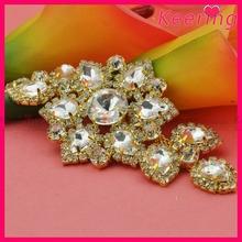 Bridal crystal & pearl sash rhinestone embellished wedding belt WRE-109