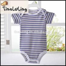 tinaluling brand strip organic cotton baby bodysuits baby toddler clothing