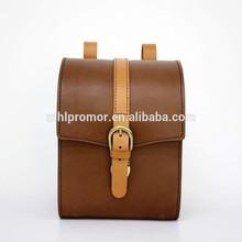 2015 Newest Chocolate Handmade Genuine Leather Camera Bag