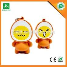 Promotional usb flash drive 500gb logo print portable wholesale cute cartoon usb flash drive