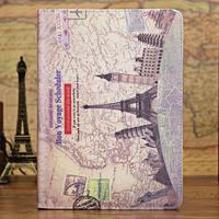 Euramerican style retro leather case for iPad mini 2