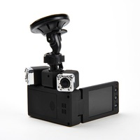 Personal moudle dual camera 270 degree twistable 2.5inch car dvr