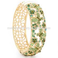 Fashion latest design women alloy metal anti-static bracelet