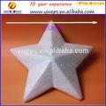 Branco 200 mm estrelas de isopor, Poliestireno estrela, Espuma estrela
