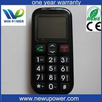 big button sim card hearing aid sos 1576 senior phone old man mobile phone