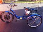 Sine wave controller in 3 wheel motorized bike,electric cargo trike, three electric cargo tricycle with our Smart Pie Hub Motor