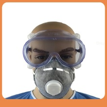 Anti-fog dustproof welding eye protection laboratory chemical splash safety goggles with alastic strap
