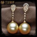 Fashion Trendy Designs Jewellery Bulk Wholesale Big Cheap pearl earring designs