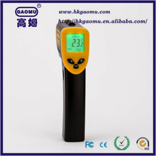 Digital Infrared (IR) Thermometer with Laser Sight -58 to +716F, 12:1 D:S, Instant-read Temperature Gun