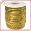 Cordão de cetim, colorido poliéster cordão rabo de rato, castanho claro várias cores disponíveis 2mm