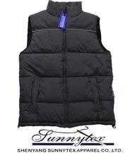 Sunnytex OEM service warm keeper waistcoats winter men padding vest