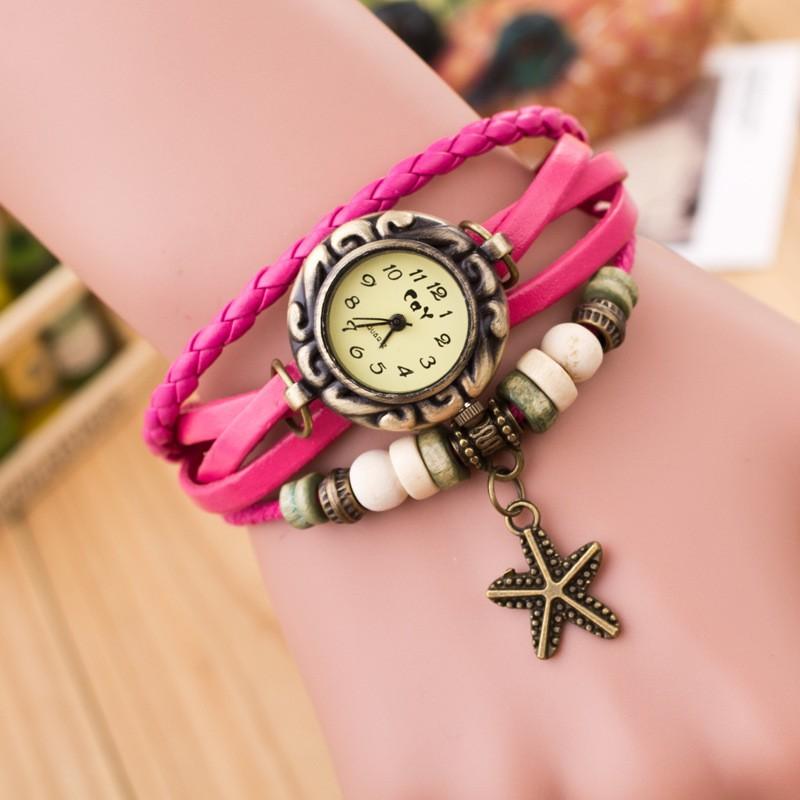 Bracelet Watch Ladies Lady Leather Bracelet Watch