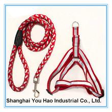 Red durable traning pet collar making supplies