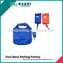 folding shopping bag in polyester