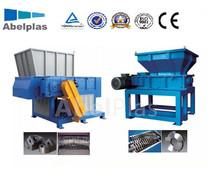 industrial single shaft shredder tire machine