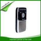 Portable solar bluetooth hands-free car kit speakerphone support music play HF-710