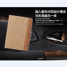 Rock Wood Series Smart Function Luxury Stand Leather Case For iPad Air