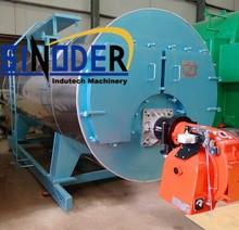 Supply horizontal 1-10 ton/h WNS series gas fired steam boiler -SINODER