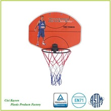 mini plastic basketball backboard