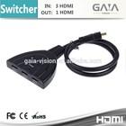 Centrum I in III de HDMI switch