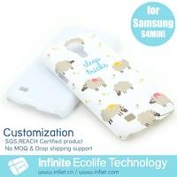 Lovely sheep phone case for Samsung S4 mini