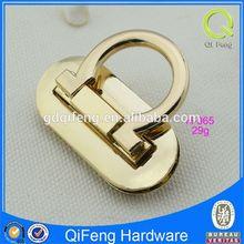 H-065 push lock for handbags ,lock for handbag accessories metal ornament