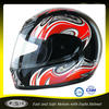 Adult cool red full face cheap motorcycle helmet A63