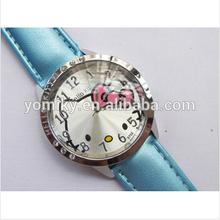 Wholesale custom logo diamond kitty back watch for girls