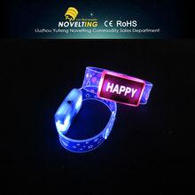 Happy Styles for Party Decorations and Wedding Fashion LED Flashing Bracelet